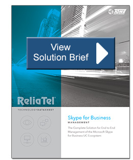 ReliaTel Microsoft UC Skype - Teams Brief